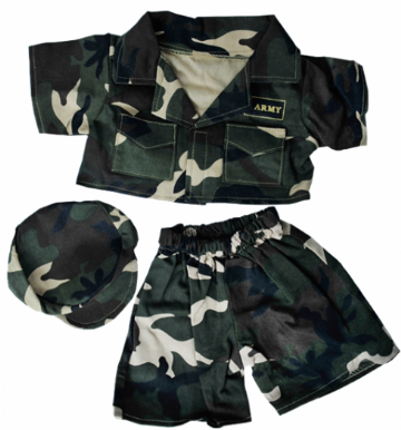Green Army Outfit - 8""